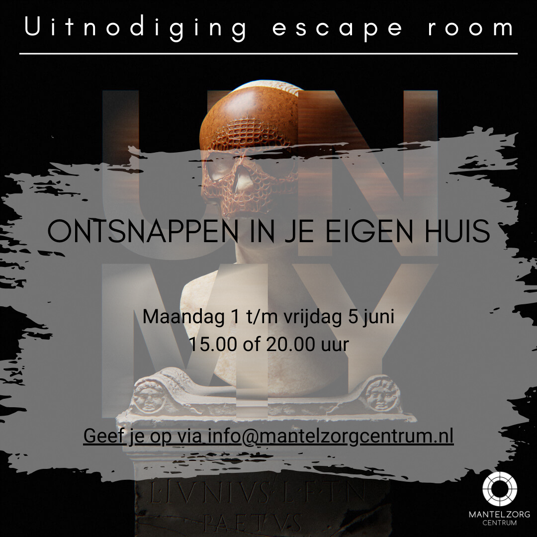 Uitnodiging escape room